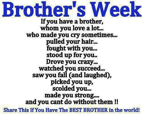 Thank You I Love My Brother Big Brother Quotes Love My Brother Quotes