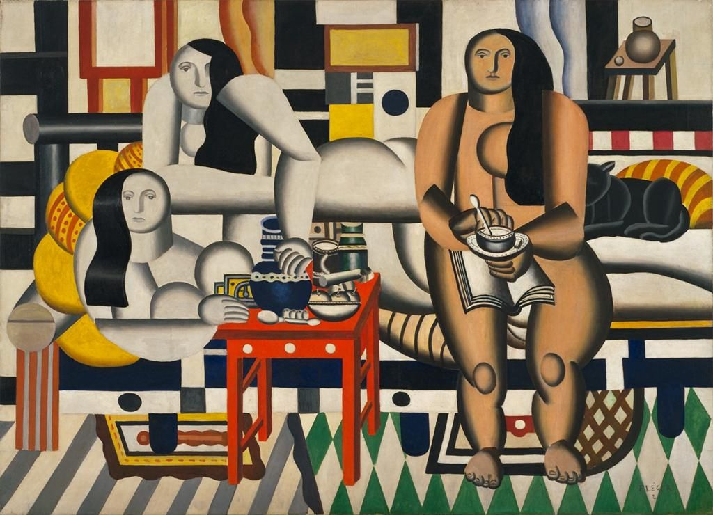 Fernand Léger, (French, 1881-1955) Three Women 1921, Oil on canvas 183.5 x 251.5 cm The Museum of Modern Art Mrs. Simon Guggenheim Fund Accession Number	189.1942