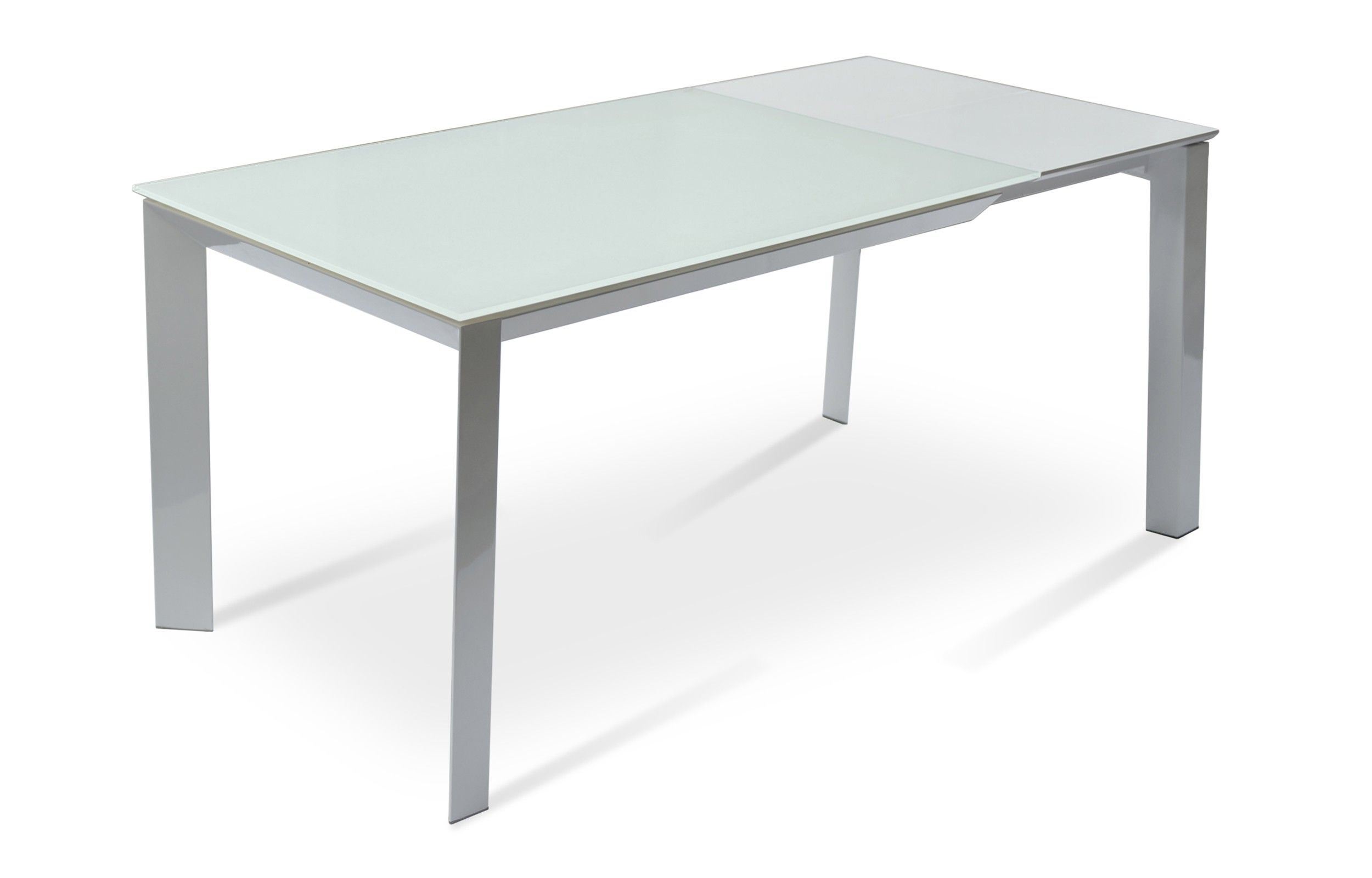 Milano Glass Extendable Dining Table Glass Dining Table Dining Table Extendable Dining Table Modern