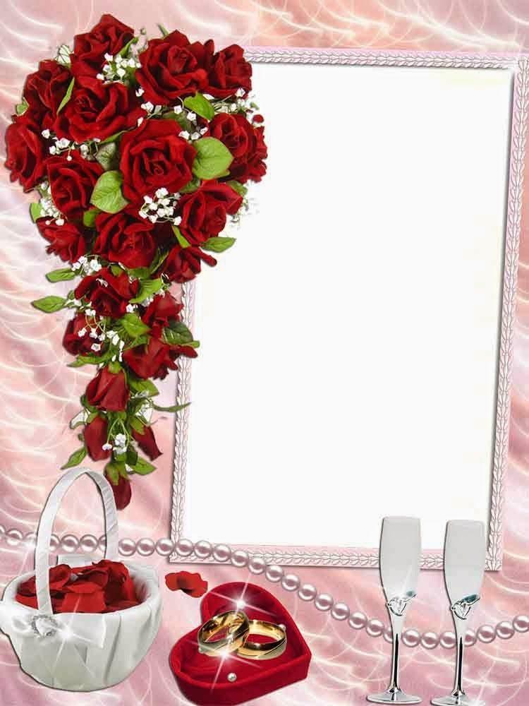 png frame wedding frame png flower frame png romantic frame lovely ...