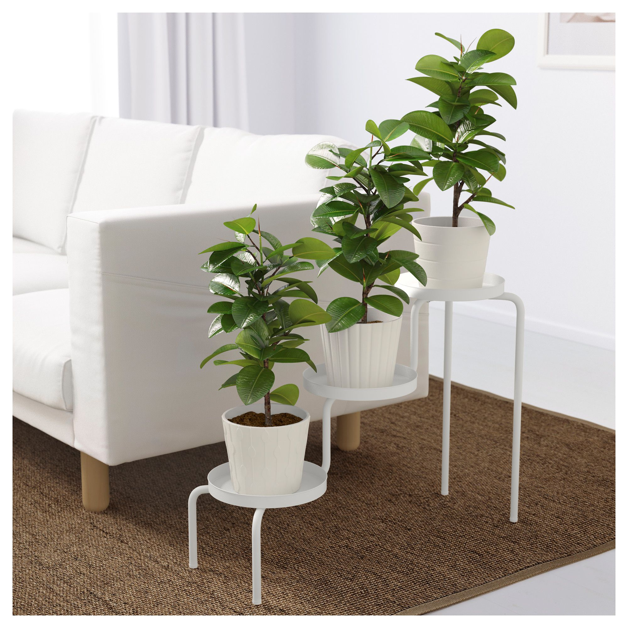 Ikea - Ps 2014 Plant Stand White Indoor Outdoor