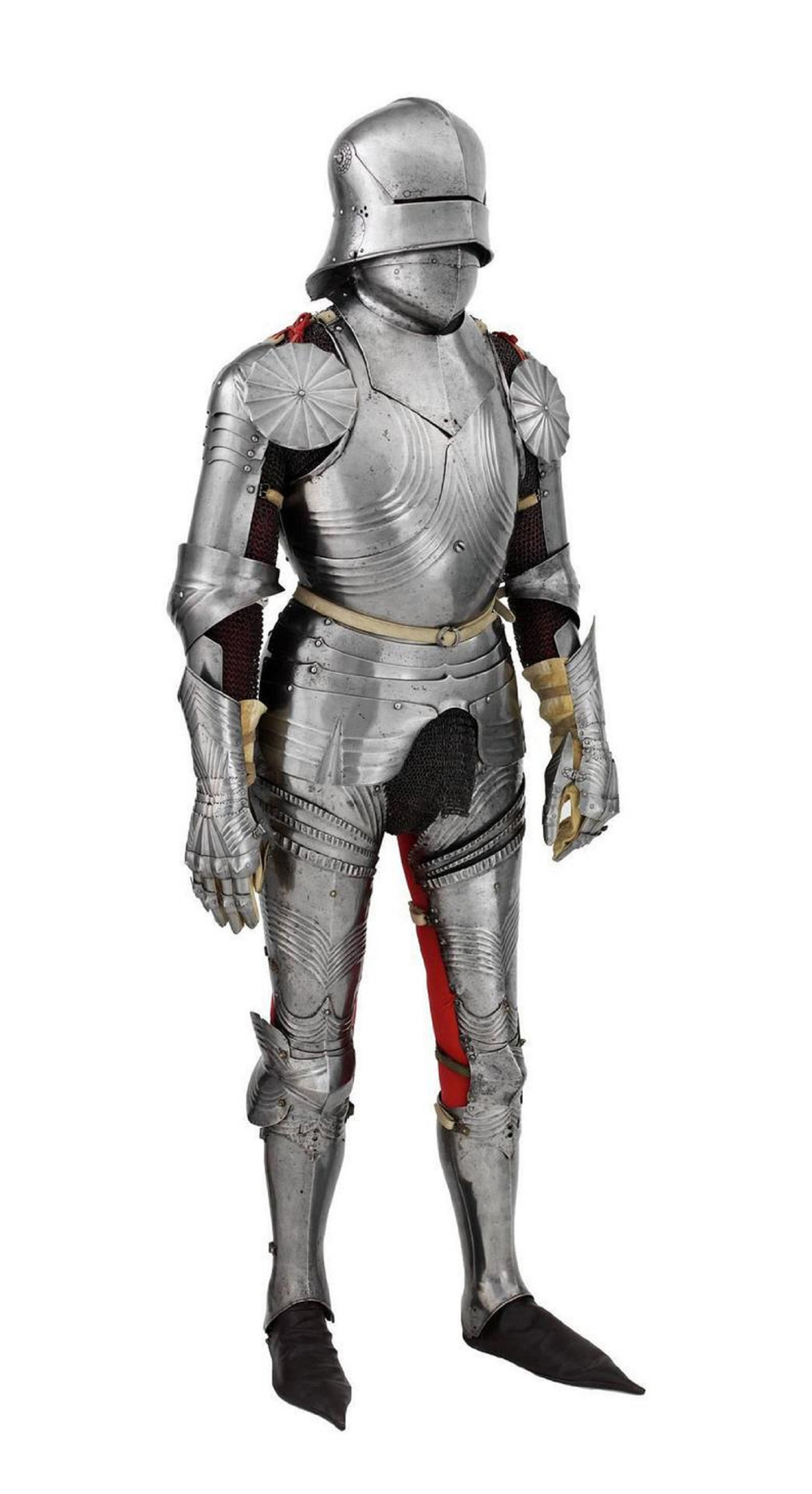 Medieval German Armour Suit Breastplate Pauldrons Bracers Warrior Larp Costume For Cosplay Costume Suit Of Armor Knight Armor Pauldron