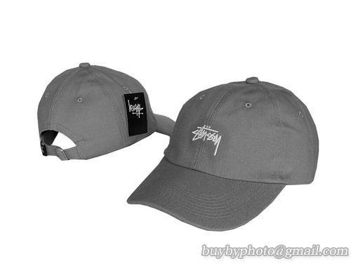 cheap stussy baseball cap big s caps grey aliexpress