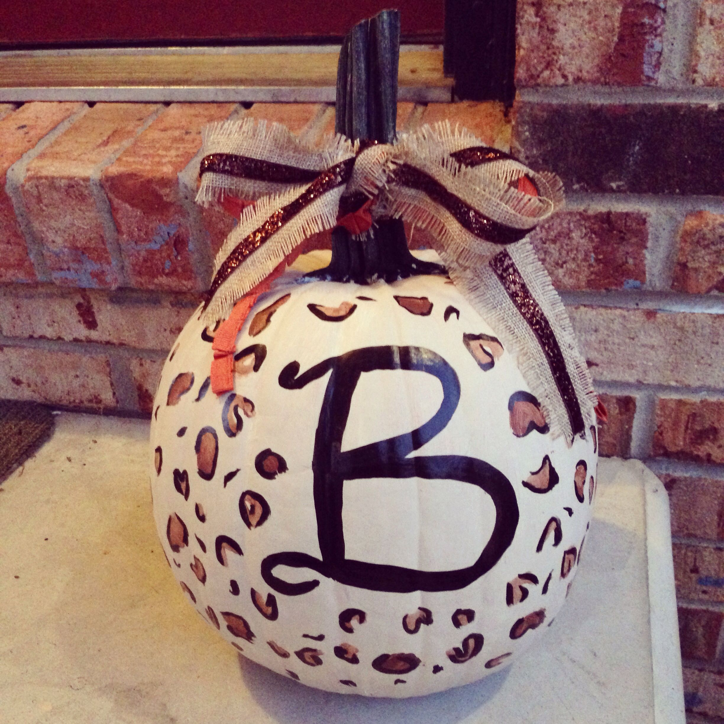 Leopard Print Pumpkin (With images) African decor, Fall