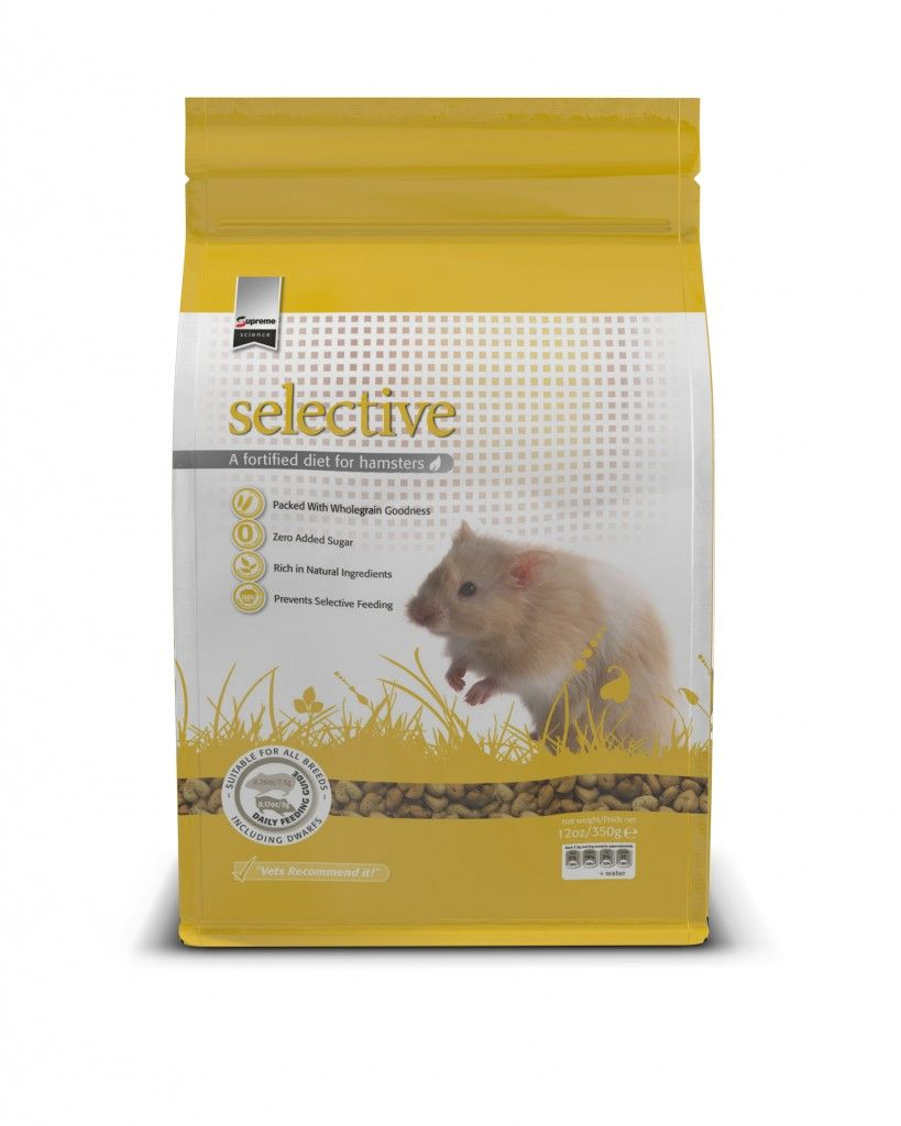 Supreme Science Selective Hamster Food 350g Hamster food
