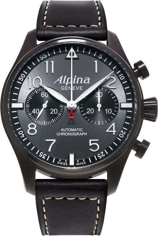 Alpina Watch Startimer Pilot Chronograph Al 860gb4fbs6 Watch Mens Watches Leather Alpina Watches Chronograph Watch