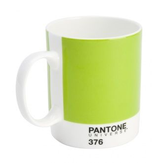 Pantone Mug Mushy Pea 376 Pantone Bloomsbury Store Mugs