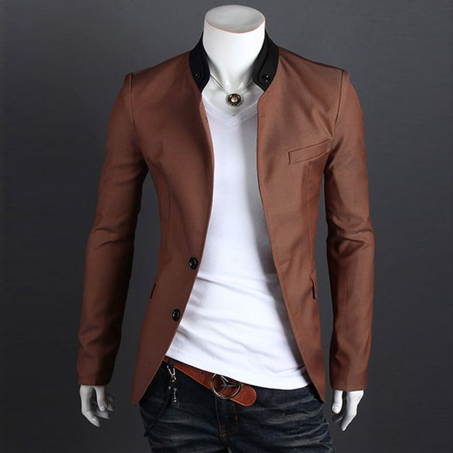 Collection Mens Slim Fit Blazer Jackets Pictures - Reikian | moda ...