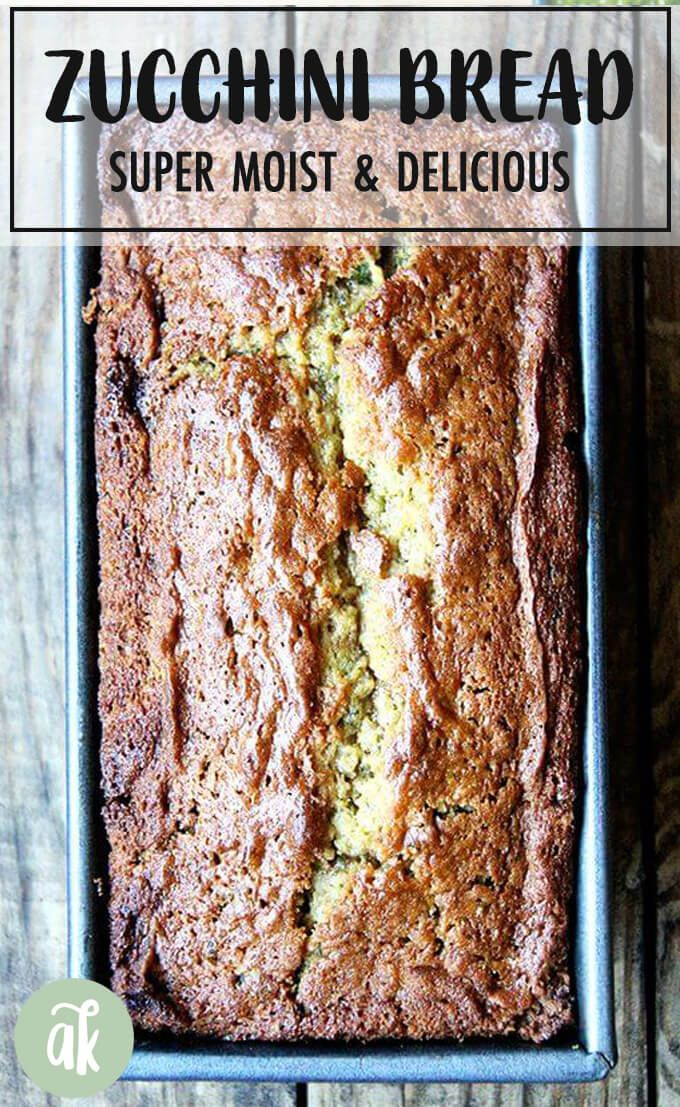 The Best Zucchini Bread This is a quick bread made with brown sugar and white eggs and oil and the result is a super moist zucchini bread that makes a wonderful addition...