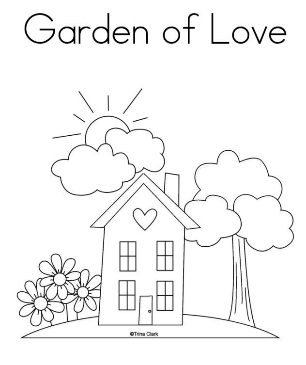 Kids Will Love These Free Springtime Coloring Pages Love Coloring Pages Sunday School Activity Sheets Preschool Worksheets