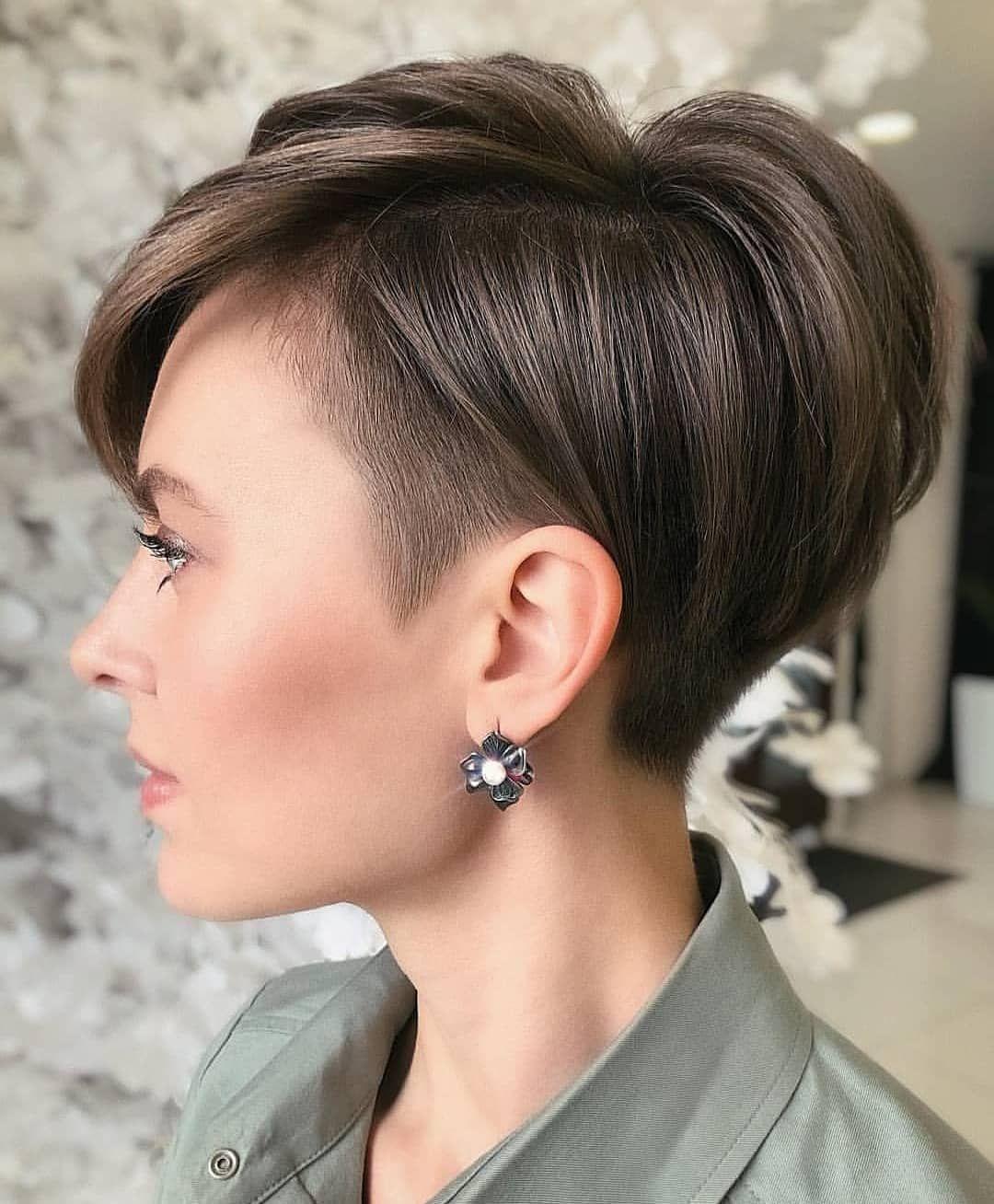 Wow Mila Kryshchykhina In 2020 Kurzhaarfrisuren Pixie Frisur Haarschnitt