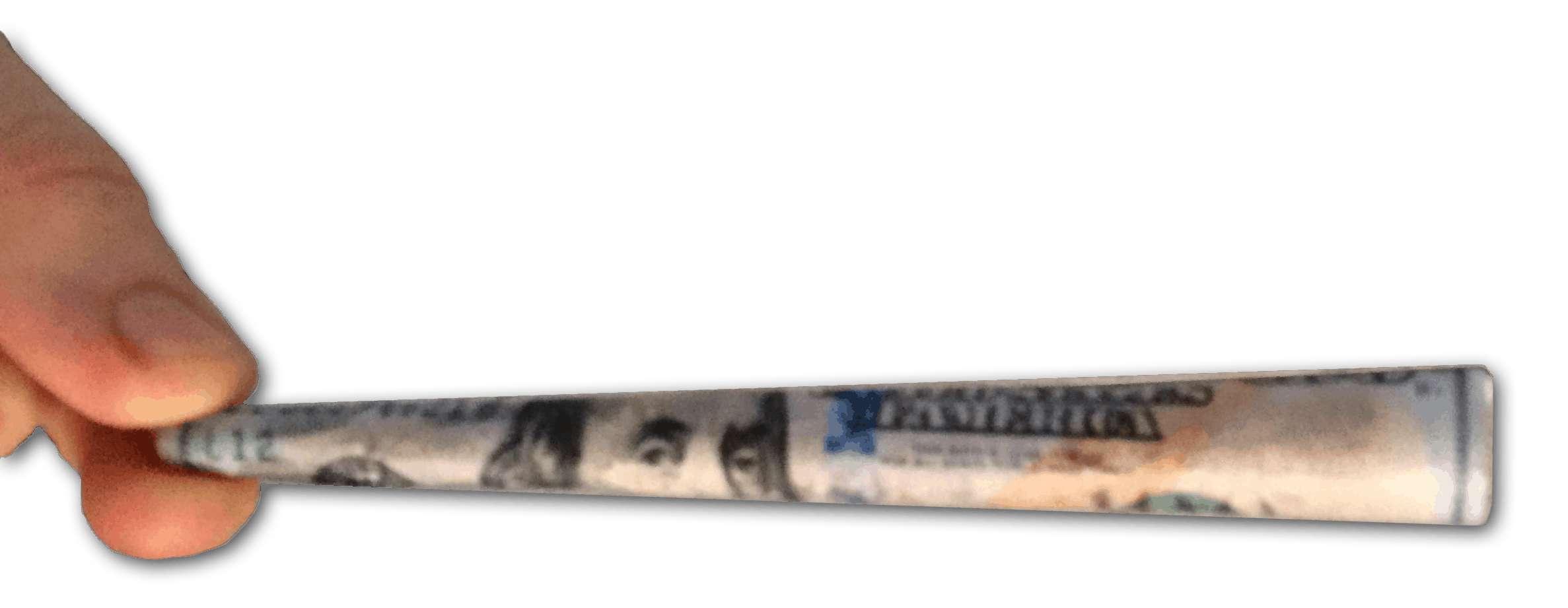 100 bill cartel rolling papers joint