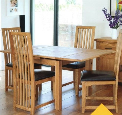 hampshire, dining table, extending table, square table, oak dining table, oak dining set, oak dining chair