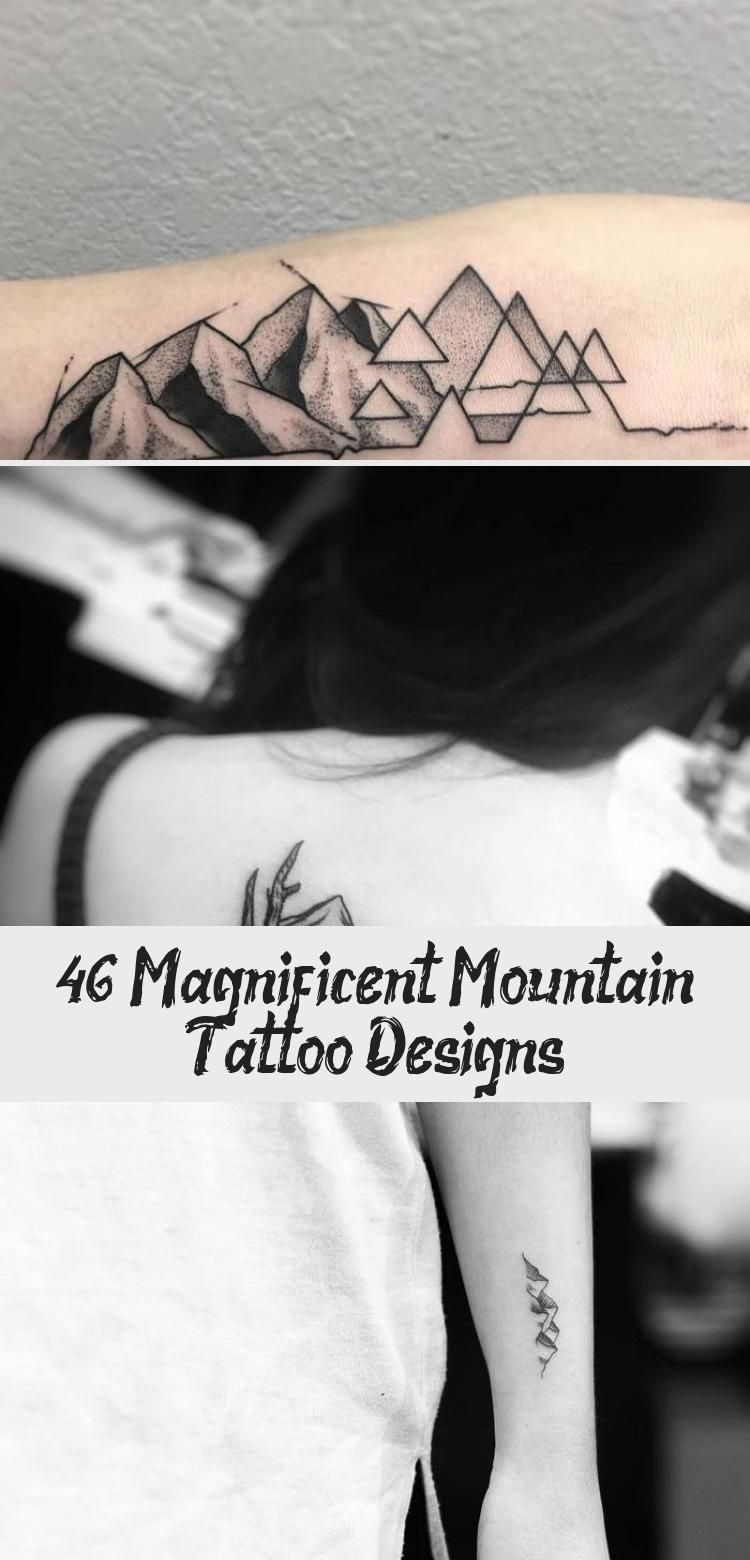 Photo of 46 Magnificent Mountain Tattoo Designs – Best Tattoos