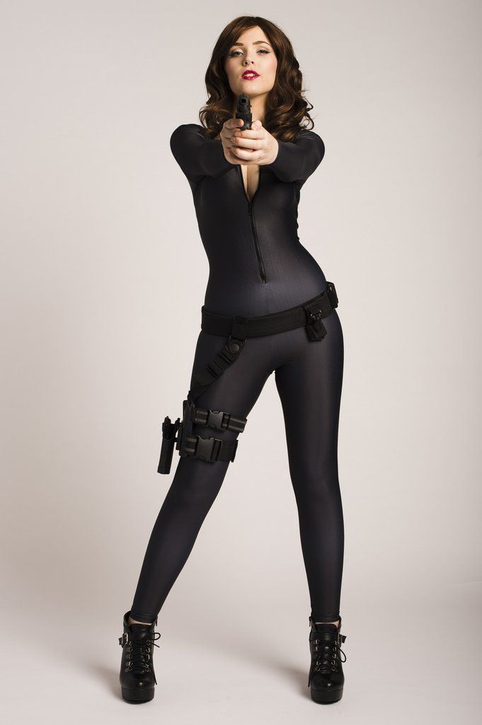 sexy girl catsuit