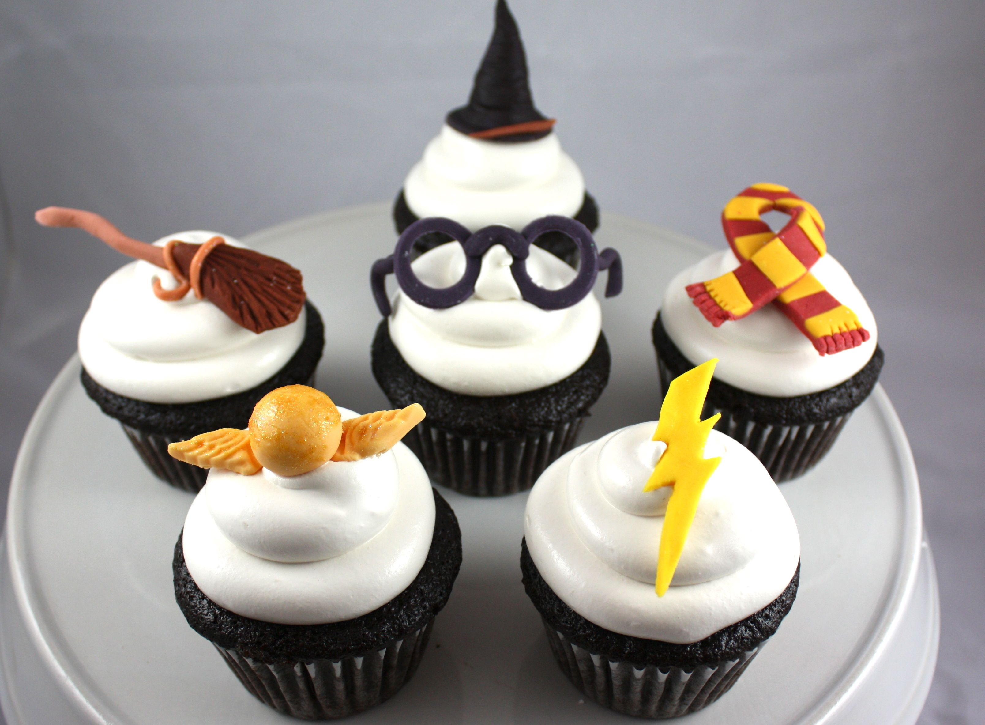 Harry Potter Cupcakes Fab Cakes Amp Everything