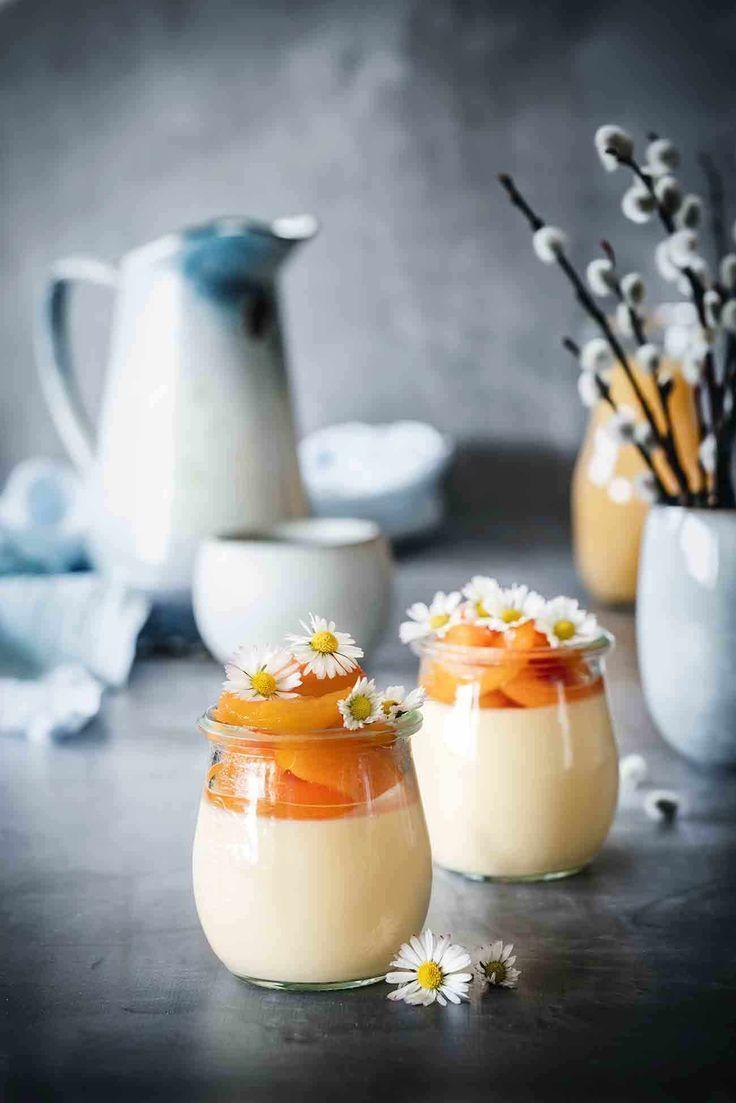 Aprikosen-Eierlikör Mousse #falldinnerrecipes