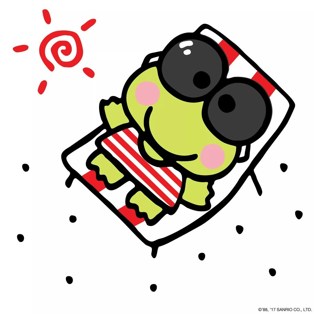 Pin by Apple Leung on Keroppi (With images) Cute frogs