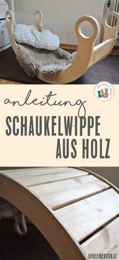 Schaukelwippe aus Holz | DIY-Anleitung #kitaräume