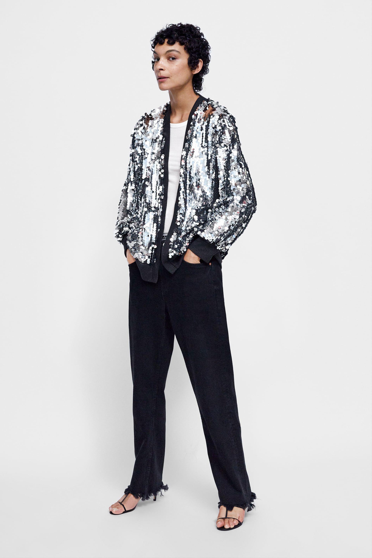 07091c3b Sequin jacket   Fall Fashion   Sequin jacket, Sequins, Jackets