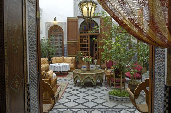 Moroccan Courtyard House Plan Architecture And Style