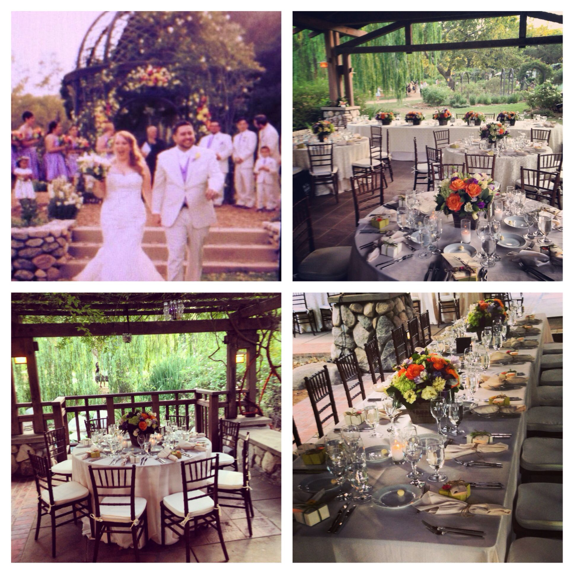 An Beautiful Garden Wedding Reception From A Wedding Planned By Celebrity Wedding Planner Kevin Garden Wedding Reception Wedding Tablescapes Celebrity Weddings