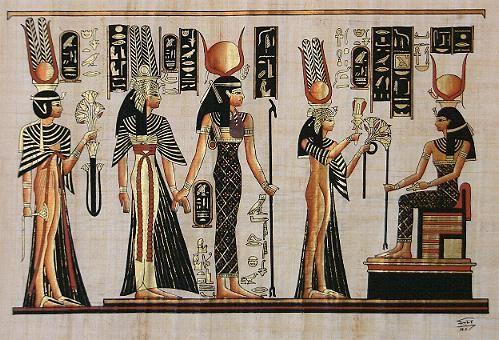 Diosas De La Mitología Egipcia Egipto Antiguo Pintura Egipcia Arte Del Antiguo Egipto