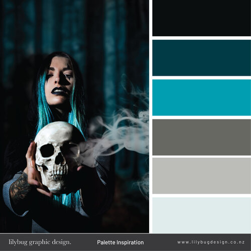 Halloween Colour Palette Horror in 2020 Halloween color