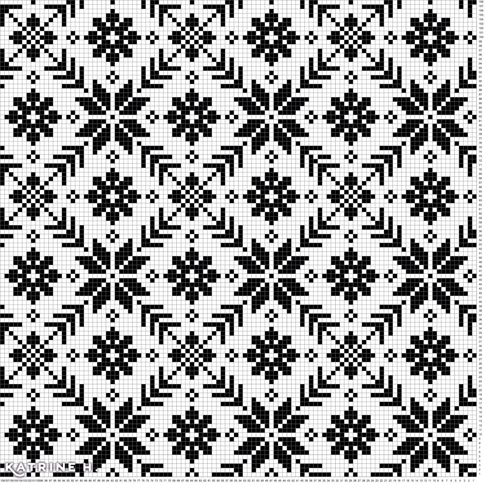 Mask Dilla: Kofte Pattern from Selbu