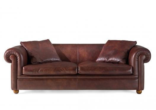 Ledersofa Italienisch klassisches ledersofa york by berto salotti living room