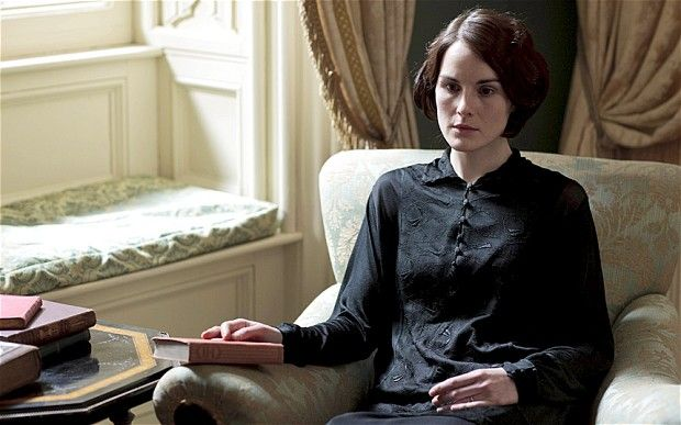 Downton Abbey returns for its fourth series with Lady Mary in mourning following the shock death of her husband, Matthew I have never cried so much at a show before