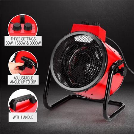 2in1 Free Standing Electric Industrial Fan Fan Heater Carpet Dryer Industrial Fan Dryer Industrial