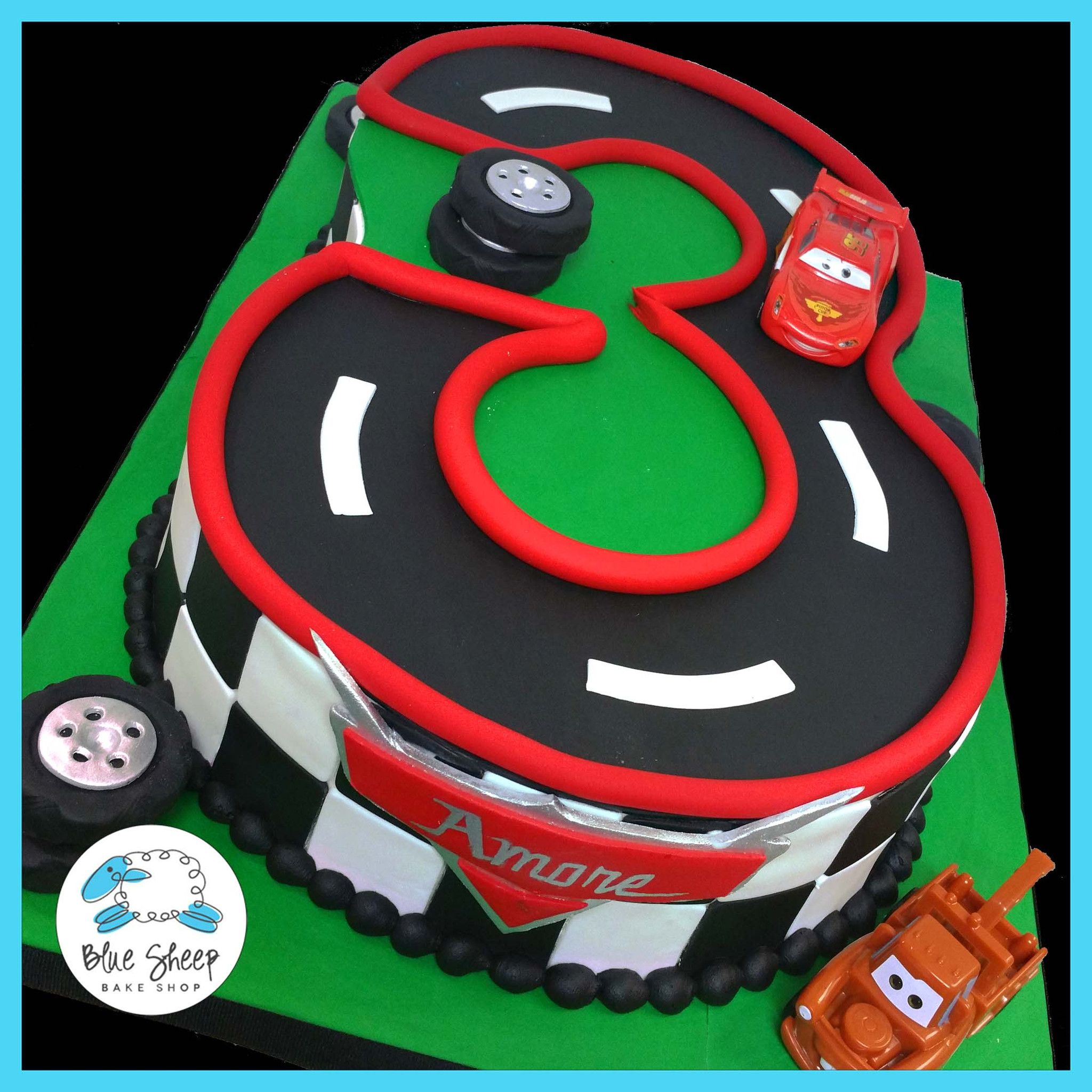 Tremendous 3 Carved Cars Themed Cake Lightning Mcqueen Birthday Cake Cars Personalised Birthday Cards Paralily Jamesorg