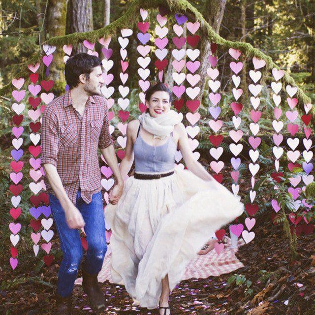 15 idées de déco de mariage repérées sur Pinterest