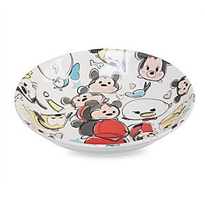 Mickey Mouse And Friends Tsum Tsum Sketch Plate Disney Store