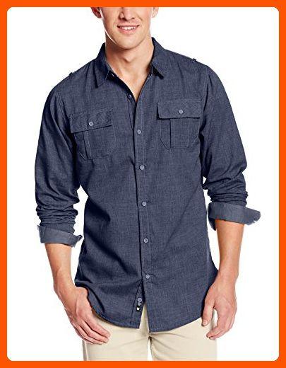 SPE969 Button Business Blouse Mens Fit Slim Short Sleeve Tops Patchwork Print Black