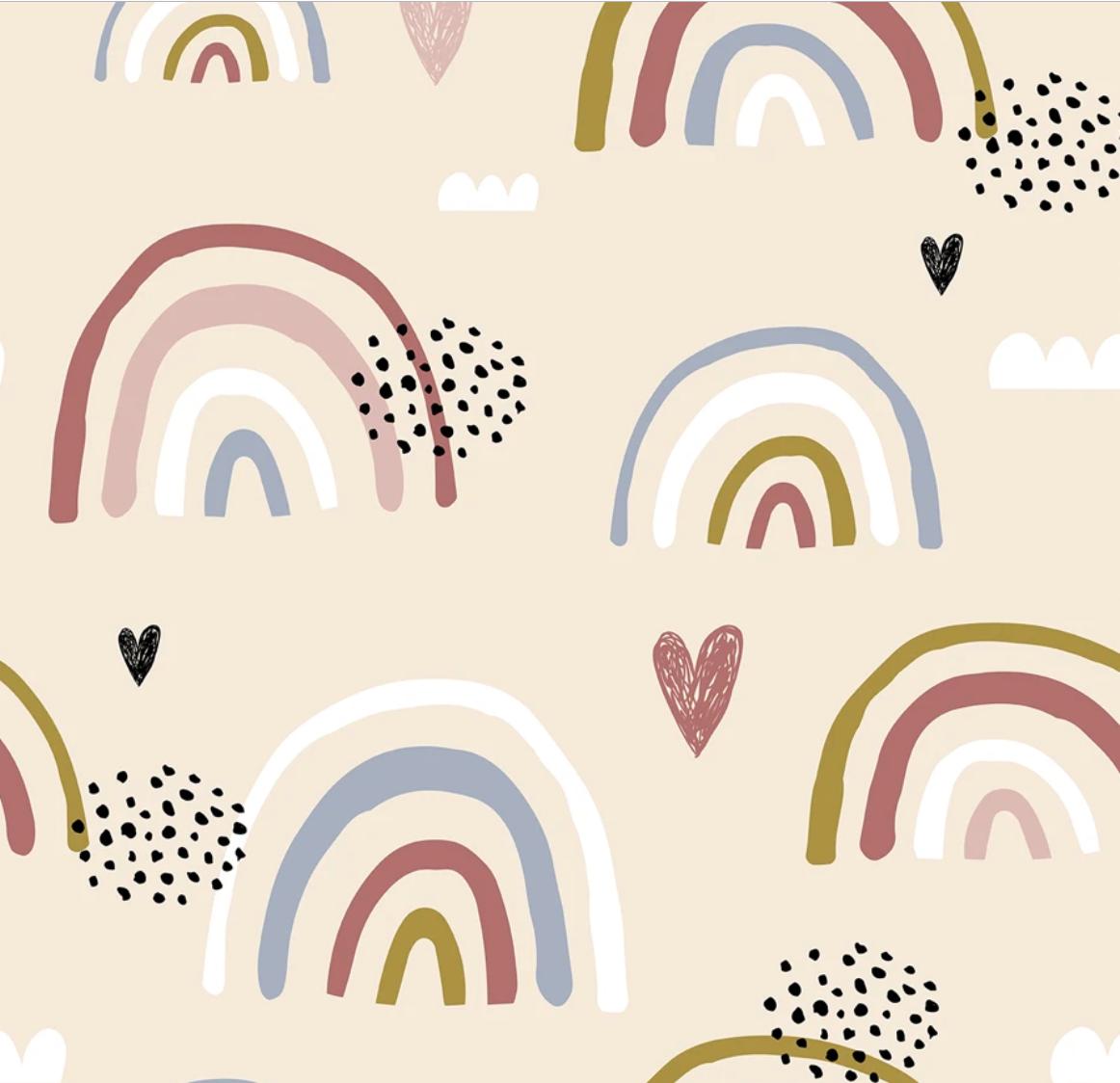 Head In The Clouds Rainbow Wallpaper Pretty Wallpaper Iphone Wallpaper
