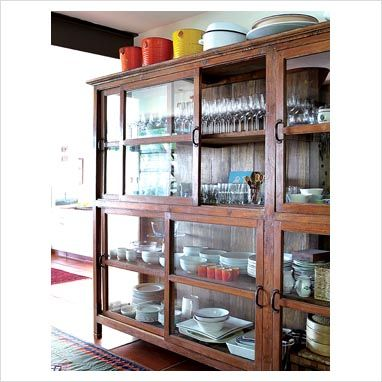 GAP Interiors - Wooden dresser - Picture library specialising in Interiors, Lifestyle & Homes