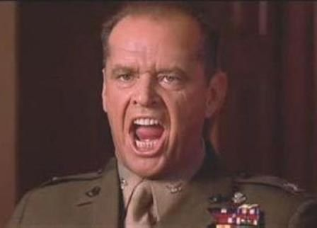 You Can/'t Handle the Truth A Few Good Men Jack Nicholson fan t shirt