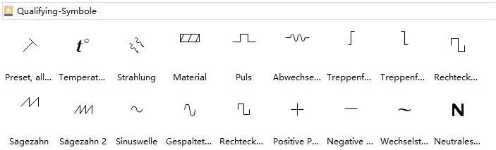 Qualifying-Symbole | Elektrische Schaltpläne Konstruktion ...