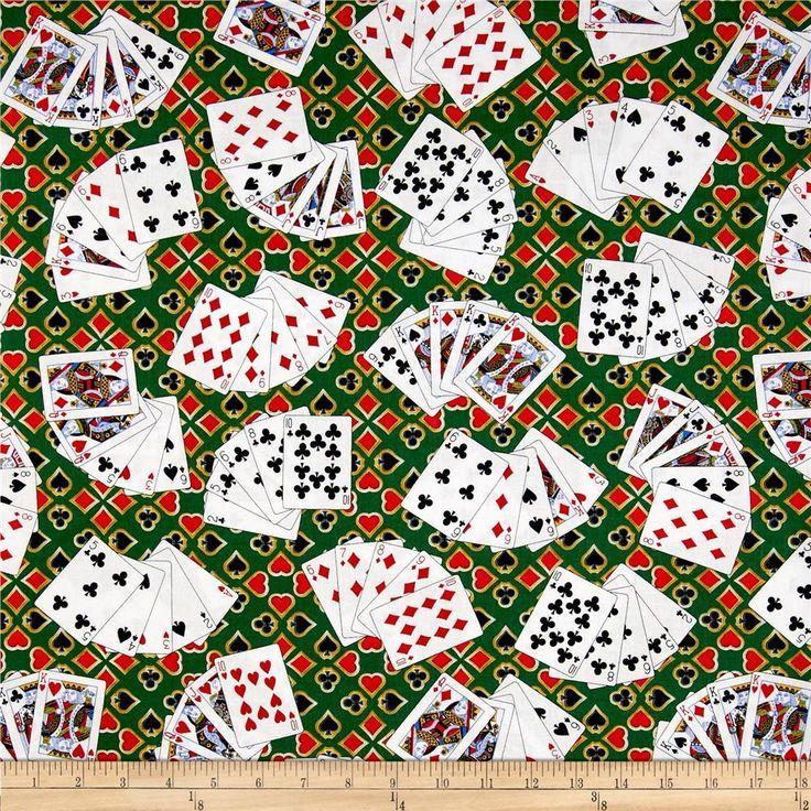 https://www.fabric.com/buy/0330541/kanvas-casino-royale-high-stakes-poker-green: