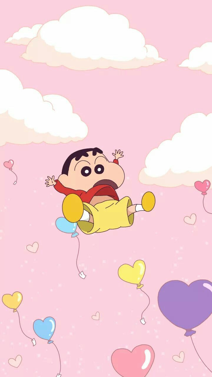 Shin Chan Cute Cartoon Wallpapers Cartoon Wallpaper Iphone Crayon Shin Chan