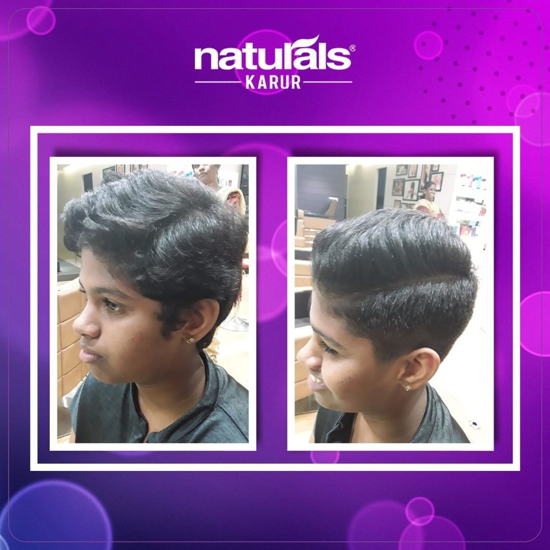 Our Client Was Really Happy With The New Haircut The Cool Undercut Gave A Rock Star Vibe That We Loved Hairc Professional Haircut Body Massage New Haircuts