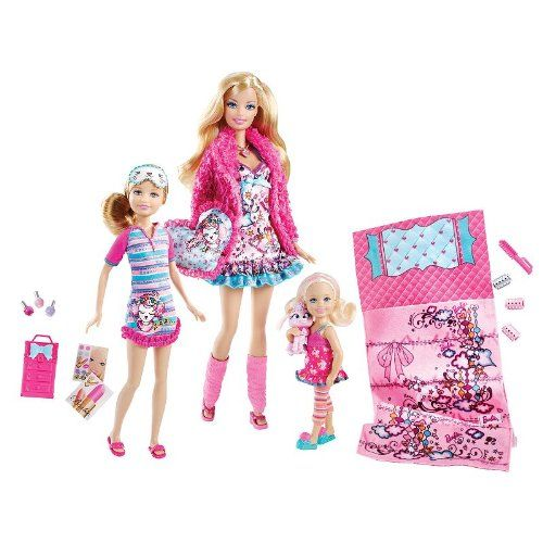 Barbie Sisters Slumber Party Set by Mattel Barbie http://www.amazon.com/dp/B005KB5MHA/ref=cm_sw_r_pi_dp_GbGOtb0X8DHVXM59