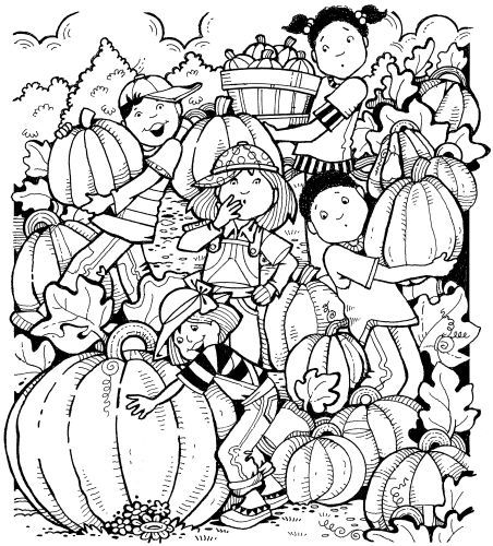 Wow What A Pumpkin Hidden Pictures Holiday Thanksgiving Fall
