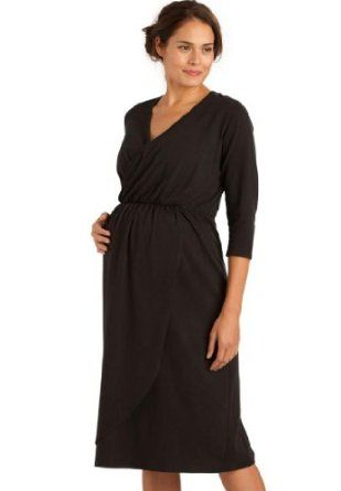 Woman Within Plus Size Dress For Maternity In Empire Tulip Style