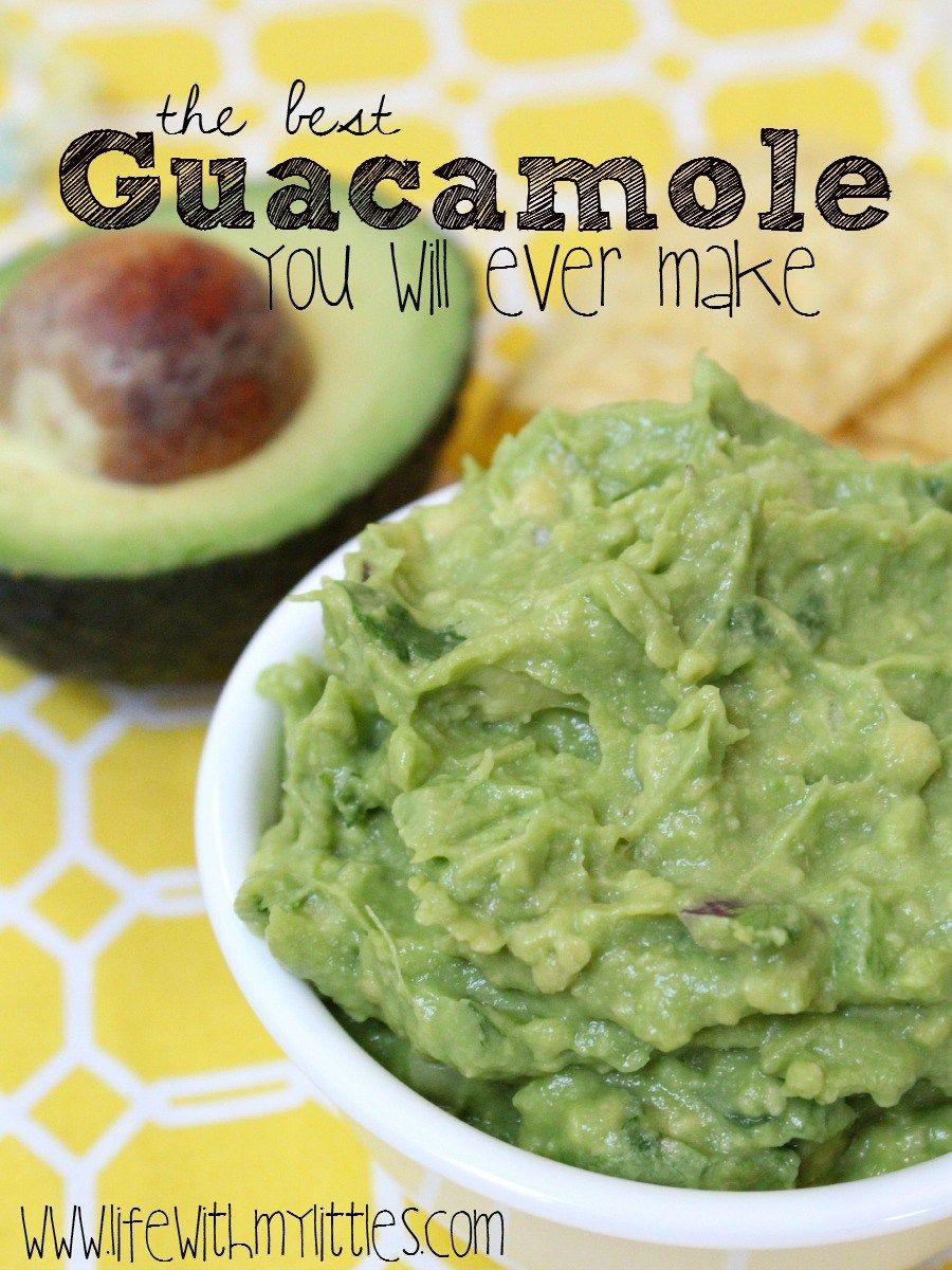 The Best Guacamole You Will Ever Make Recipe Best Guacamole Recipe Guacamole Recipe Recipes