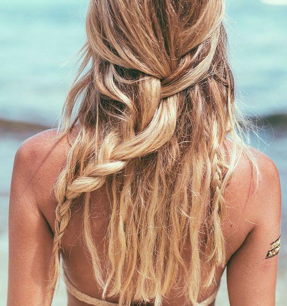 PEINADO VERANIEGO! #peinado #playa #estilo