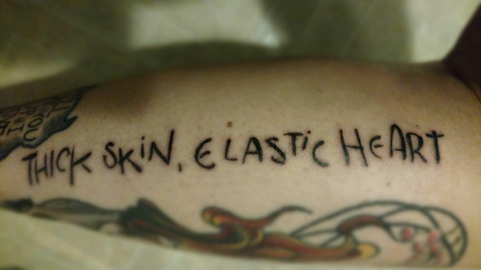 Sia Elastic Heart Tattoos My New Addiction