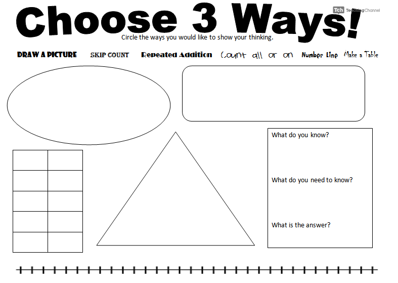 The Common Core Is Tough On Kids With >> Problem Solving Activity To Push Kids To Persevere In Solving Tough